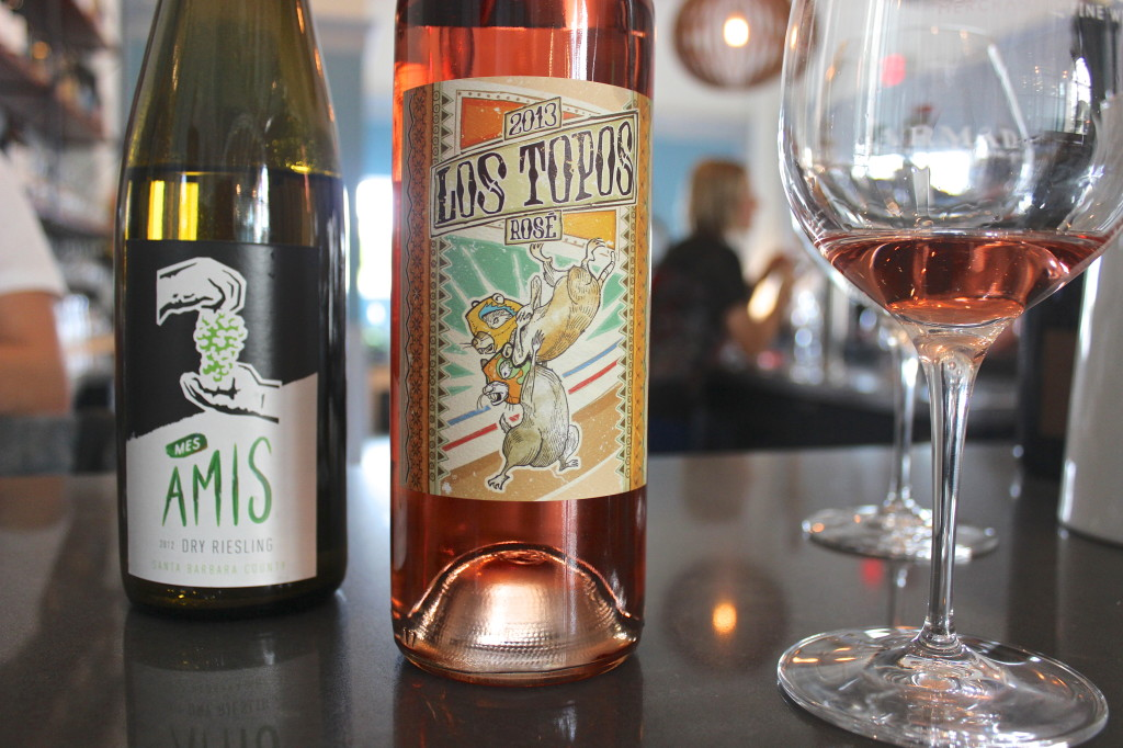 Los Topos Rose at Armada Wine & Beer | Wander & Wine