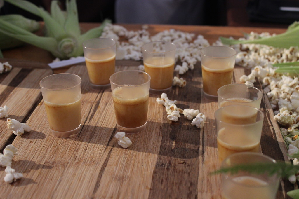 Liquified Caramel Popcorn at PBFW | Wander & Wine