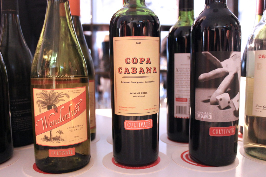 Wonderlust, Copa Cabana and The Gambler - Cultivate Wines | Wander & Wine