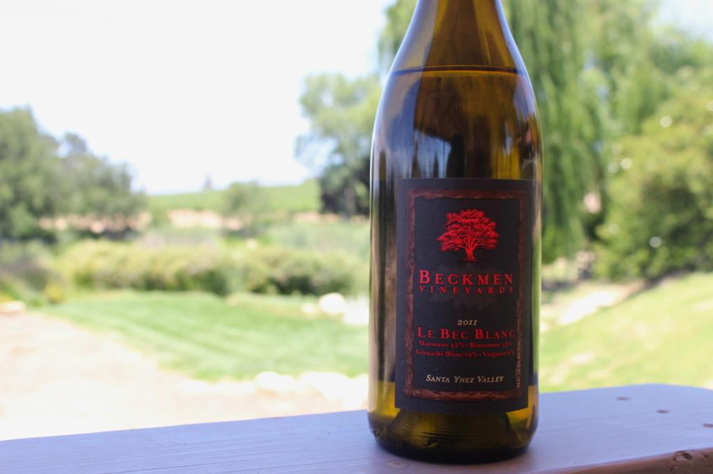 2011 Beckmen Le Bec Blanc wine | Wander & Wine
