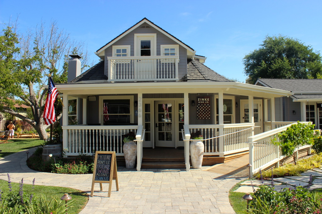 Zinke Wine Co, Los Olivos tasting room | Wander & Wine