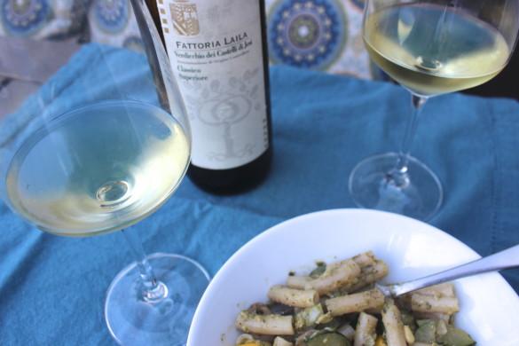 Italian Wine & Pesto
