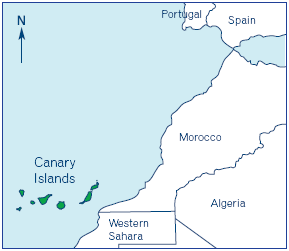 Canary Islands Map | Wander & Wine