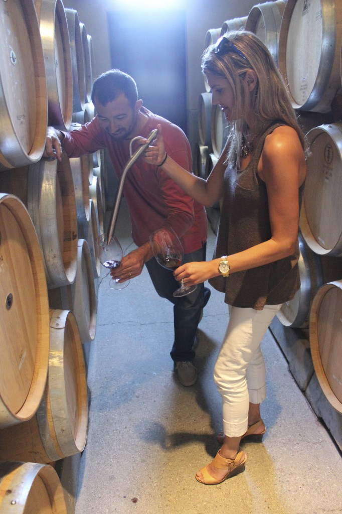 Barrel tasting - Round Pond Winery | Wander & Wine