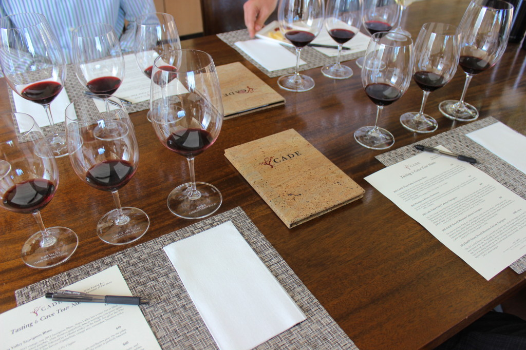 Wine tasting experience at CADE Winery | Wander & Wine