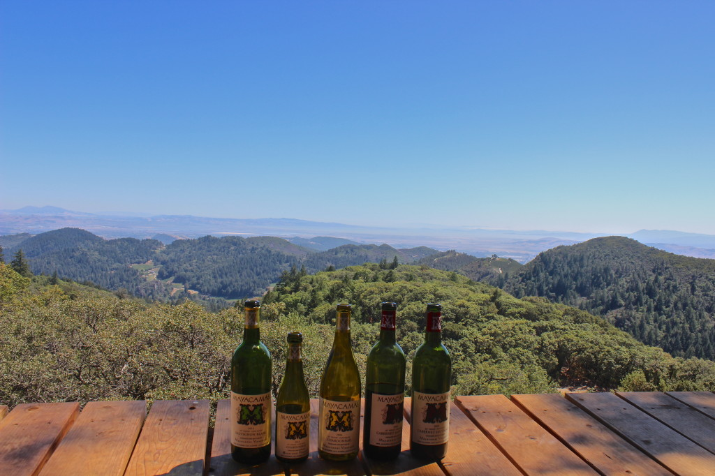 View from Mayacamas Vineyards, Napa Valley | Wander & Wine