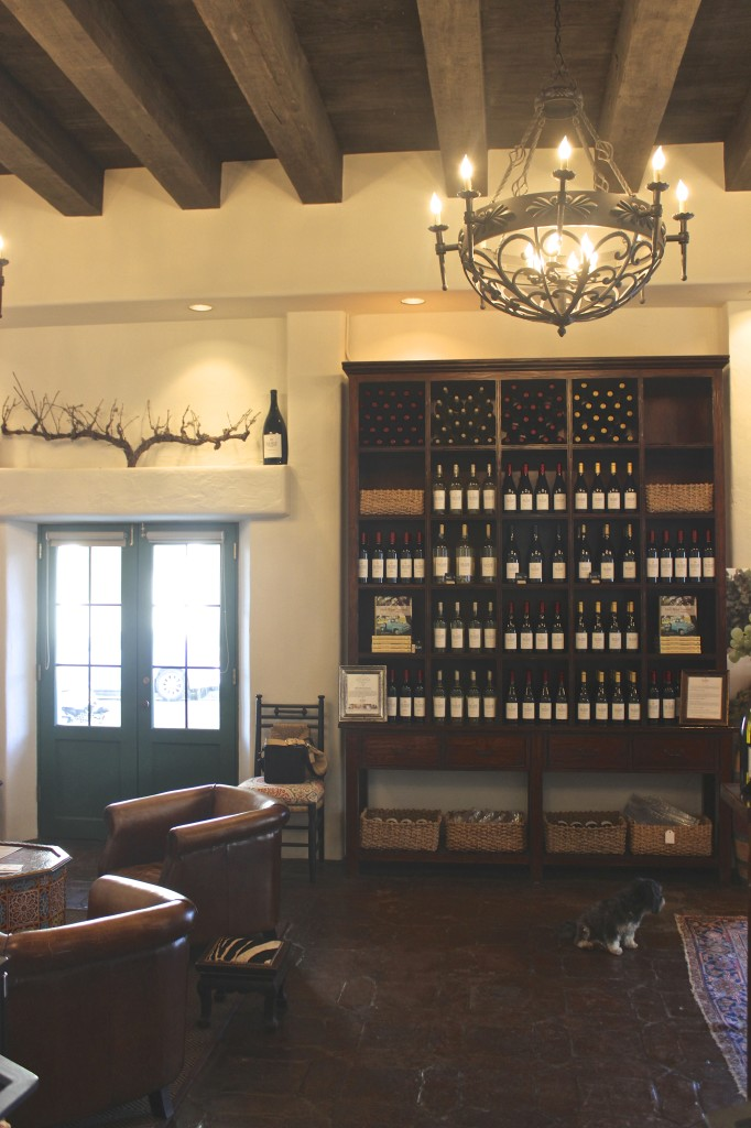 Interior of Jamie Slone Tasting Room, Santa Barbara | Wander & Wine