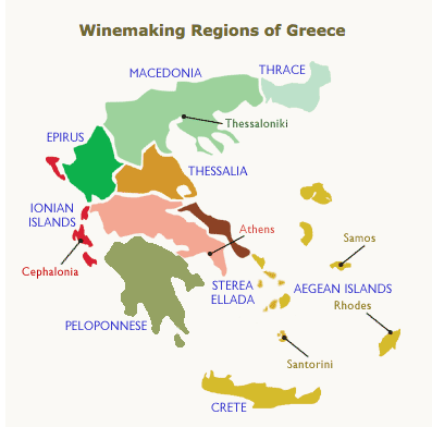 Wines of Greece | Wander & Wine