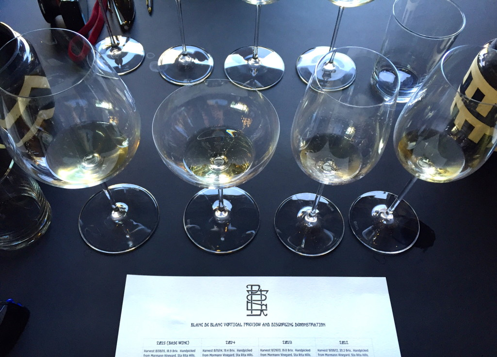 Sparkling Wine & Disgorging Demo at Potek Winery, Santa Barbara | Wander & Wine