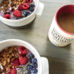 Protein smoothie bowls and Hakuna Matata vibes this morning Happyhellip