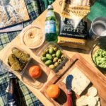 Sunshine  picnic provisions makes for the perfect lazy Saturday
