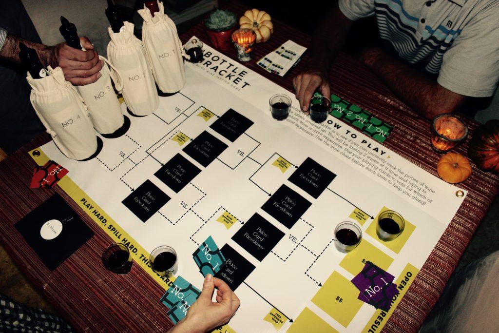 Bottle Bracket Wine Tasting Game | Wander & Wine