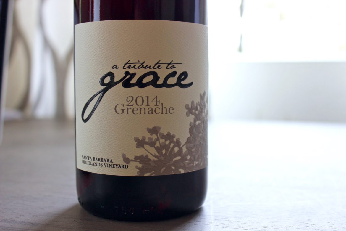 A Tribute to Grace - Santa Barbara Grenache | Wander & Wine