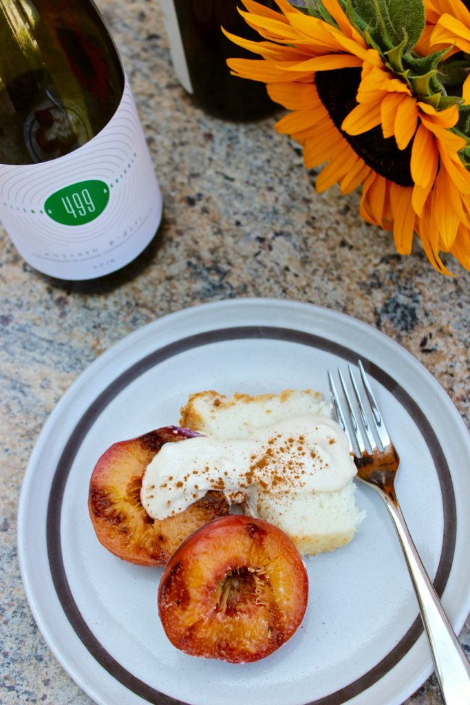 Moscato d'Asti and Grilled Peaches Wine Pairing | Wander & Wine